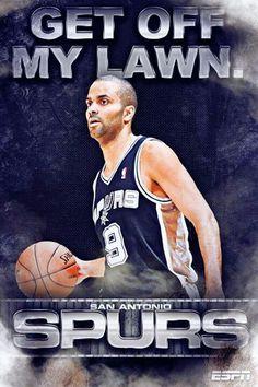 Spurs!  Tony Parker