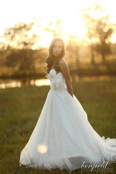 gorgeous dress, beautiful bride, and awesome photo!