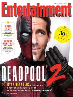 Deadpool 2 Covers Entertainment Weekly