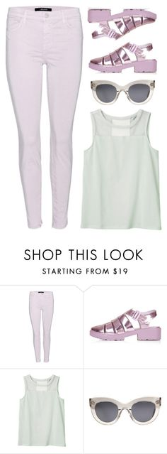 """""""Untitled #156"""" by sourpants ❤ liked on Polyvore featuring moda, J Brand, Topshop, Monki ve CÉLINE"""