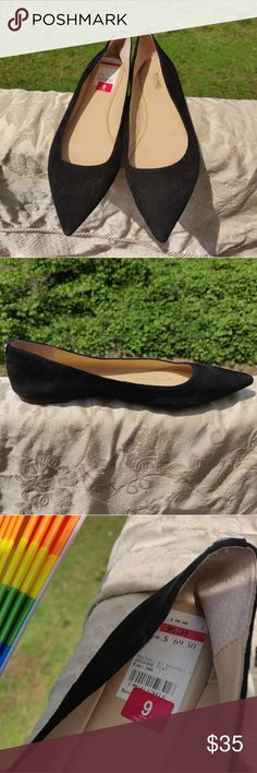 f2d58370cb ... Shoes Heels. See more. Micheal Kors Arianna Pointed Toe Flat These are  Micheal Kors black pointed toe flats with a