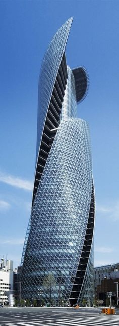 Mode Gakuen Spiral Towers in Nagoya, Japan #architecture ☮k☮
