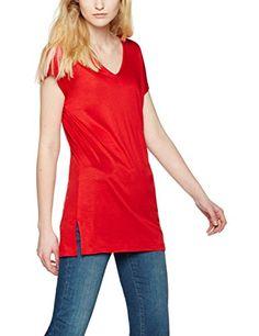 FIND Women's Long Line T-Shirt: Amazon.co.uk: Clothing
