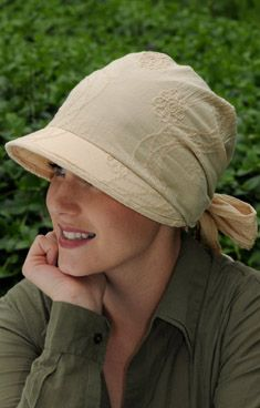 visor headwraps for cancer chemo patients
