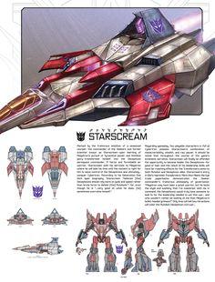 Art of Fall of Cybertron, Starscream