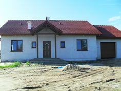 Elewacja frontowa  #elewacja #projekt #dom