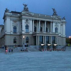 opera opernhaus zurich, schweiz