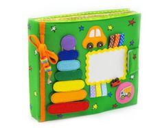 A big busy / quiet box set of tablets 12m /Quiet Book by MiniMoms