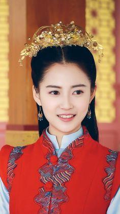 锦绣未央·陈钰琪 China, Princess Weiyoung, Heavenly Sword, Asian Artwork, Vietnam, Drama, Red Costume, Picture Movie, Ancient Beauty