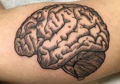 12 Cerebral Brain Tattoo Design Ideas - http://slodive.com/tattoos/12-cerebral-brain-tattoo-design-ideas/