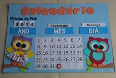 Calendario Para Kinder.20 Mejores Imagenes De Calendario Preescolar En 2018
