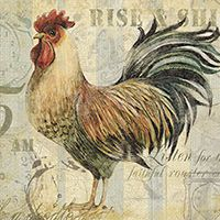Faithful Rooster