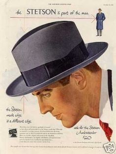ffd0f2f4177 The STETSON is part of the man Costume Hats
