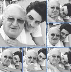 Gianluca with his Nonno who brought his music to life! Credit: TheIlVoloversMx