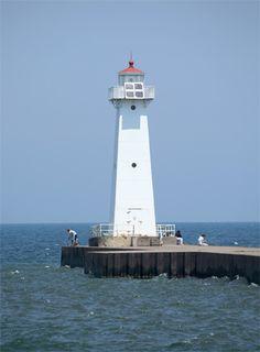 Sodus Outer Lighthouse, Lake Ontario, New York