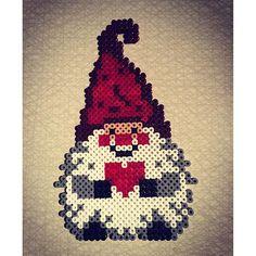 Christmas gnome hama beads by boksnoken