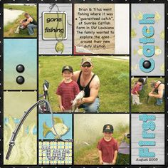 First Catch,digital layout by Josoliviamaid