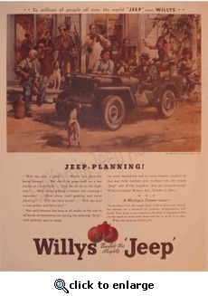 """Willys Jeep: """"Jeep Planning."""""""