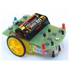 Seguimiento de coche robot kit de bricolaje electrónico con motor reductor