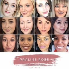 PRALINE ROSE - Love this shade? You can order it here: www.lastinglip.ca If it's currently out of stock, it wont be listed on the website so feel free to message me via my Facebook Page at www.facebook.com/lastinglip and I'll get you one. #lipsense #pralinerose #lastinglip #senegence