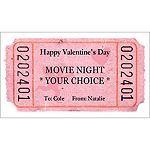 customizable love tickets!
