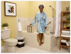 Walk in bath tub bath pinterest walk in bath walk for Low profile bath tubs