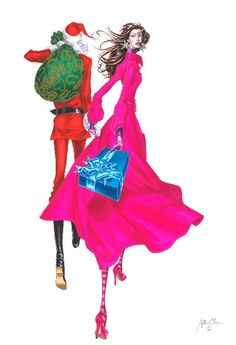 .Arturo Elena Fashion illustration