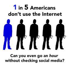Challenge: Break from the Internet #NHsmc #socialmedia #Internet