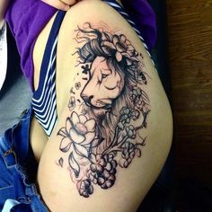 lion-hip-tattoo.jpg 635×636 pixels