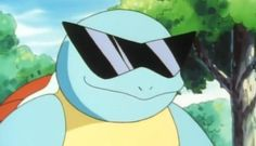 Pokemon GO: How to Get Squirtle With Sunglasses Pokemon Go, Pikachu, Pokemon Memes, Cartoon Icons, Cartoon Memes, Cartoons, Kawaii Anime, Squirtle Squad, Youtube Drawing