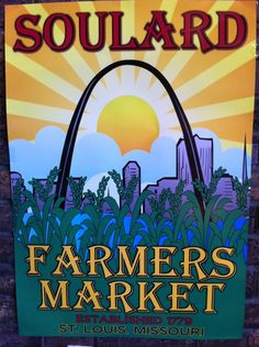Soulard Farmers Market in St Louis, MO