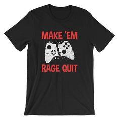Video game controller shirt - gamer shirt - video game t shirt - xbox shirt - coo Gamer T-shirt, Gamer Humor, Xbox, Gamer Quotes, Video Game Quotes, Game Tester Jobs, Rage Quit, Nintendo, Video Game T Shirts