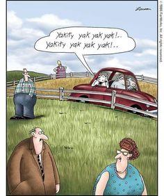 Far Side Cartoons, Far Side Comics, A Comics, Funny Cartoons, Funny Comics, Funny Memes, Geek Humor, Nurse Humor, Gary Larson Far Side