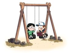Dipper and Candy by markmak - I totally ship it..