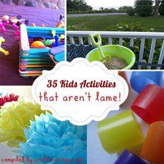 35 Easy Kid Activities That Aren't Lame - Craft Cravings