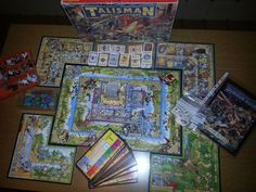 BOARDGAME TALISMAN 3 EDIZIONE + TUTTE ESPANSIONI