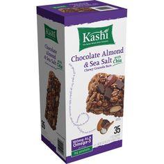 Kashi Chocolate Almond Sea Salt w Chia Chewy Granola (35 Count) 'Open Box' #Kashi