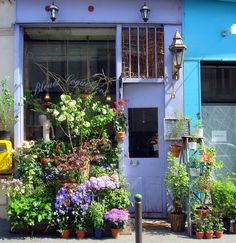 Rue de la Grange aux Belles by eclectic gipsyland, via Flickr #colours #colors