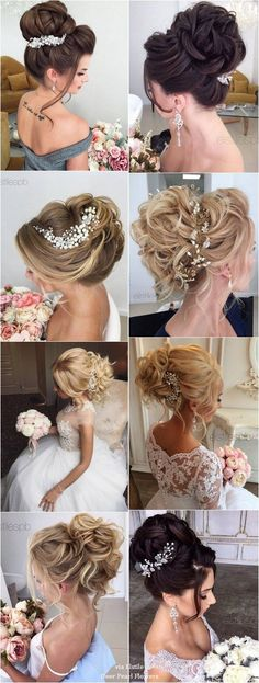 40 Best Wedding Hairstyles For Long Hair / http://www.deerpearlflowers.com/wedding-hairstyles-for-long-hair/