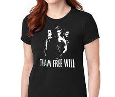 Team Free-Will - Supernatural T-shirt
