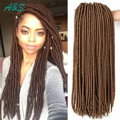 Top havanna mambo crochet braids faux locs crochet hair brown braiding hair synthetic hair dreadlock one piece hair extensions. AS hair store from aliexpress. Our email is ashair2016@outlook.com. wholesale price