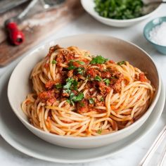 Spaghetti Bolognese. The ultimate recipe for bolognese sauce