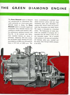 KB-5 is a 1 1/2 ton truck brochure. This is page 5.