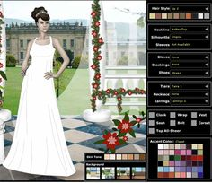 Amazing wedding dress up games for girls Wedding Indexs Pinterest Wedding dress Wedding and Weddings