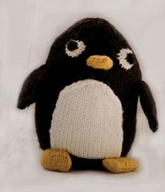 FREE Toy Knitting Pattern Penelope Penguin in Cascade 128 Superwash. A great gift for kids and an easy knitting project. Get the FREE downloadable PDF from LoveKnitting.
