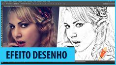 Como Transformar Foto em Desenho - Photoshop CC