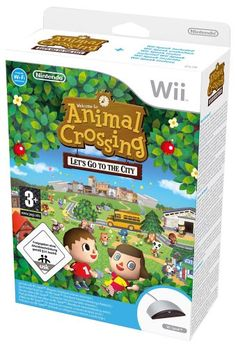 Animal Crossing: Let's Go To The City with Wii Speak (Wii): Amazon.co.uk: PC & Video Games