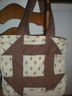 roomy cotton tote bag by elainenthesun on Etsy, $15.00