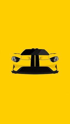20 Ideas For Vintage Cars Wallpaper Automotive Art Ford Gt, Auto Ford, Car Ford, Retro Cars, Vintage Cars, Lamborghini, Ferrari, Supercars, Automobile