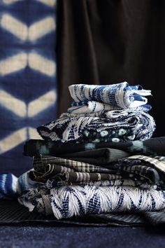 Indigo Textiles from Kanazawa, Japan